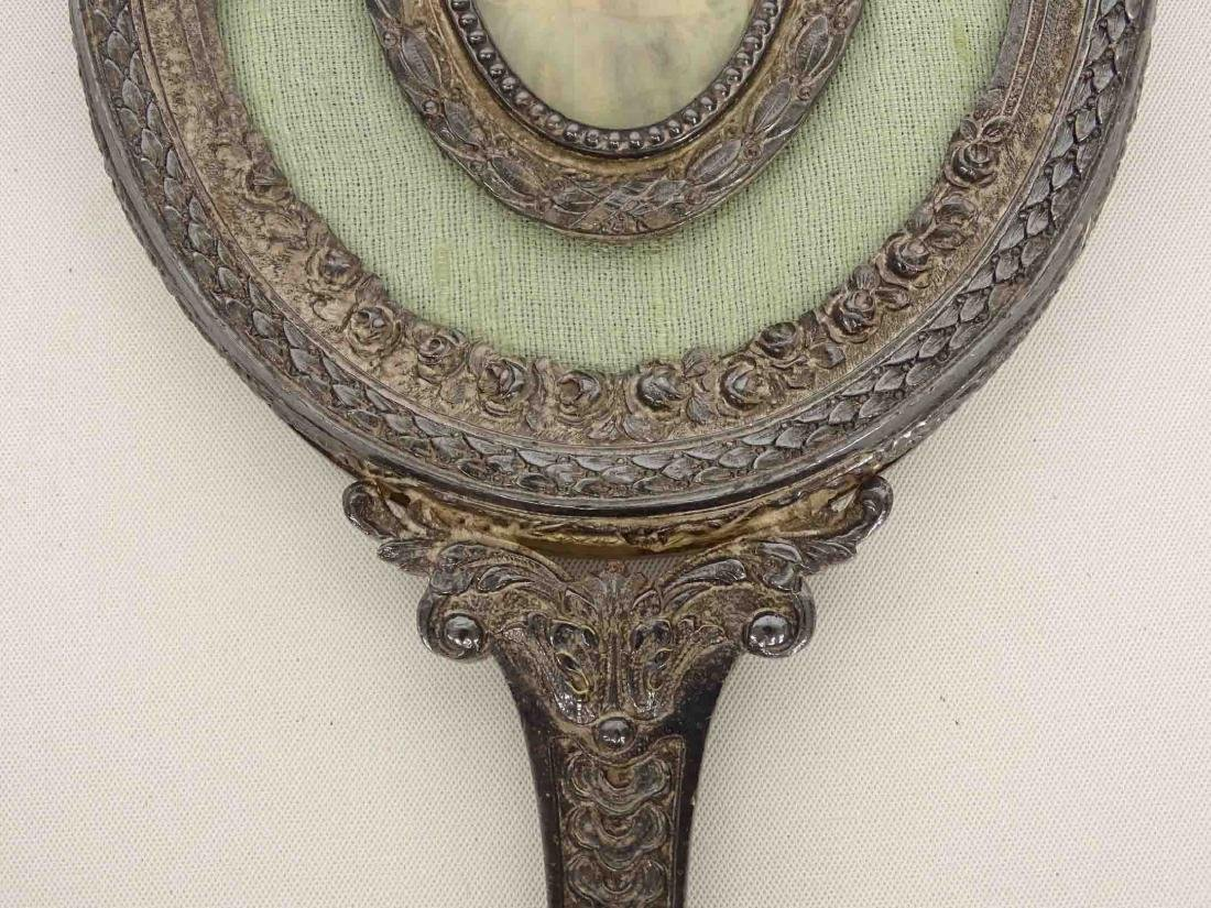 Hand Mirror With  Miniature Portrait - 5