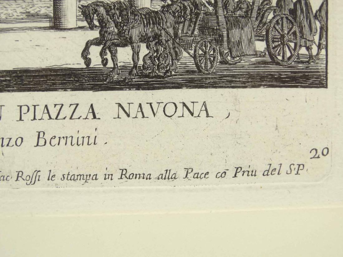 17th c. Italian Etching - 4