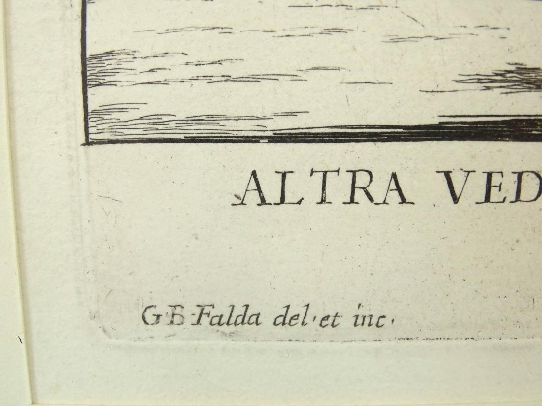 17th c. Italian Etching - 5