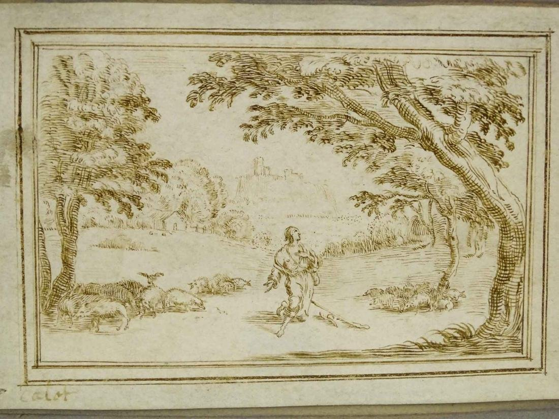 17th c. Drawing Attr. To Jacques Callot - 4