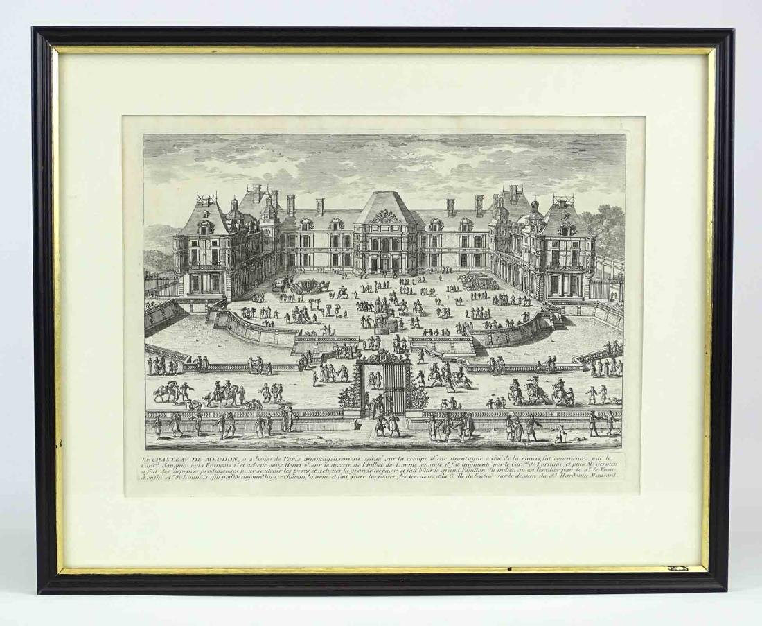 17th c. Etching By Perelle