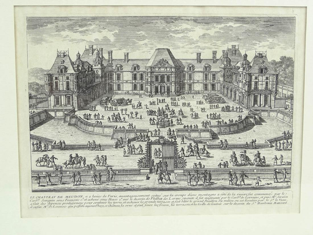 17th c. Etching By Perelle - 2