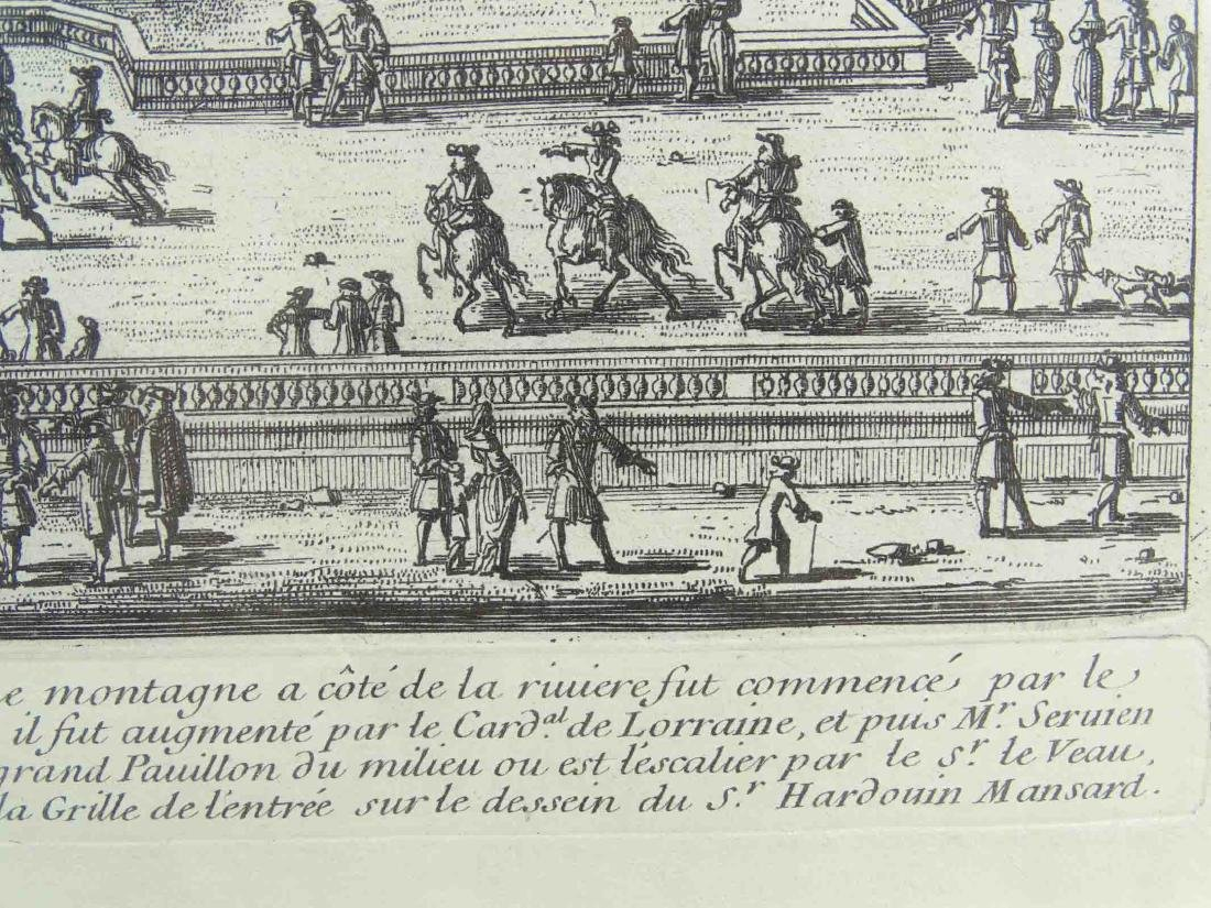 17th c. Etching By Perelle - 5
