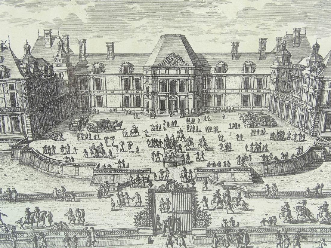 17th c. Etching By Perelle - 6