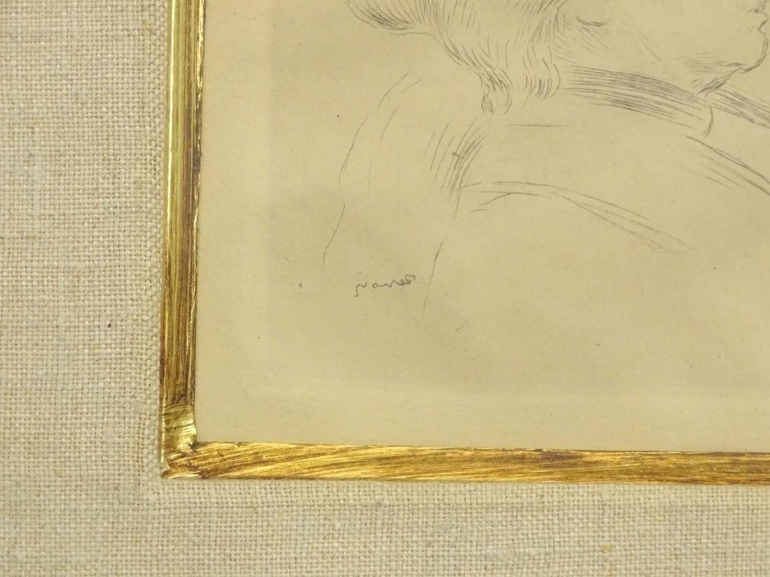 Berthe Morisot Etching By Renoir - 3