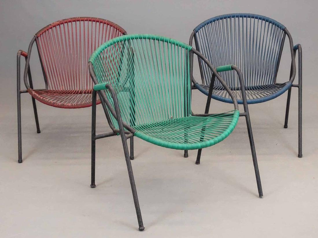 French Mid Century Chairs