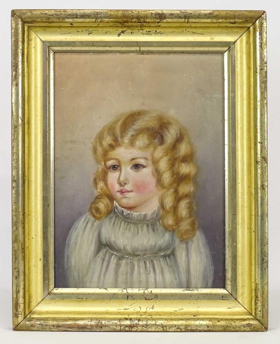 American School, Portrait Of A Little Girl