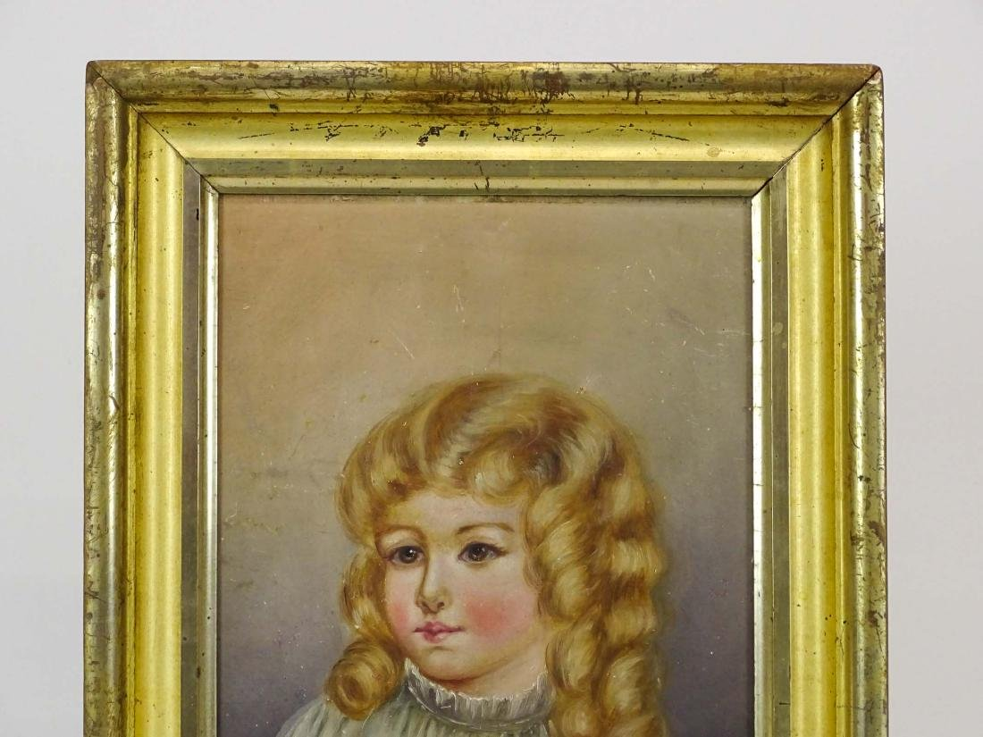 American School, Portrait Of A Little Girl - 2