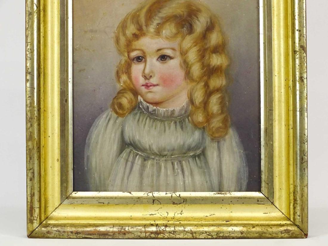 American School, Portrait Of A Little Girl - 3