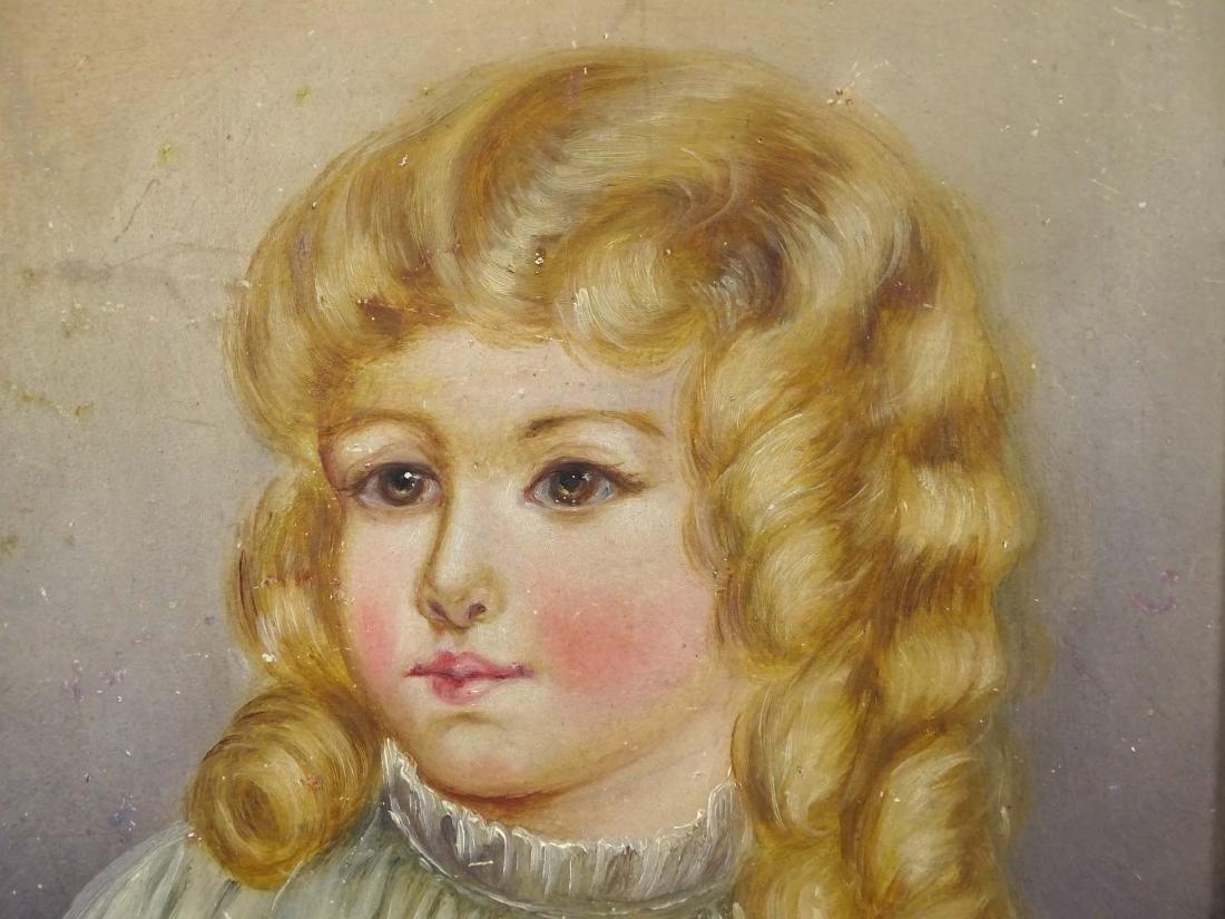 American School, Portrait Of A Little Girl - 5
