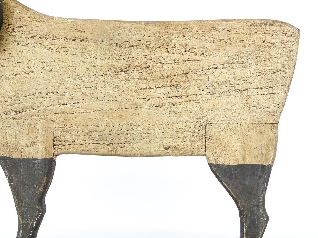 Folk Art Ram Carving - 3
