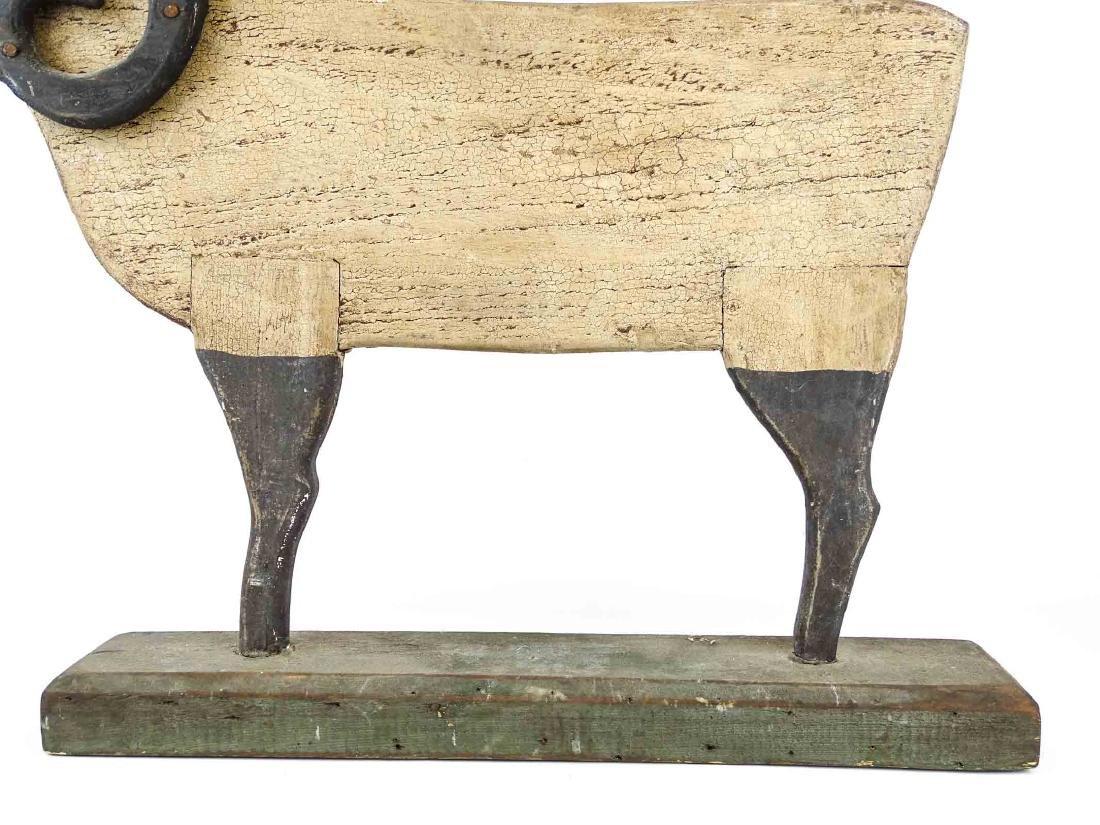 Folk Art Ram Carving - 4