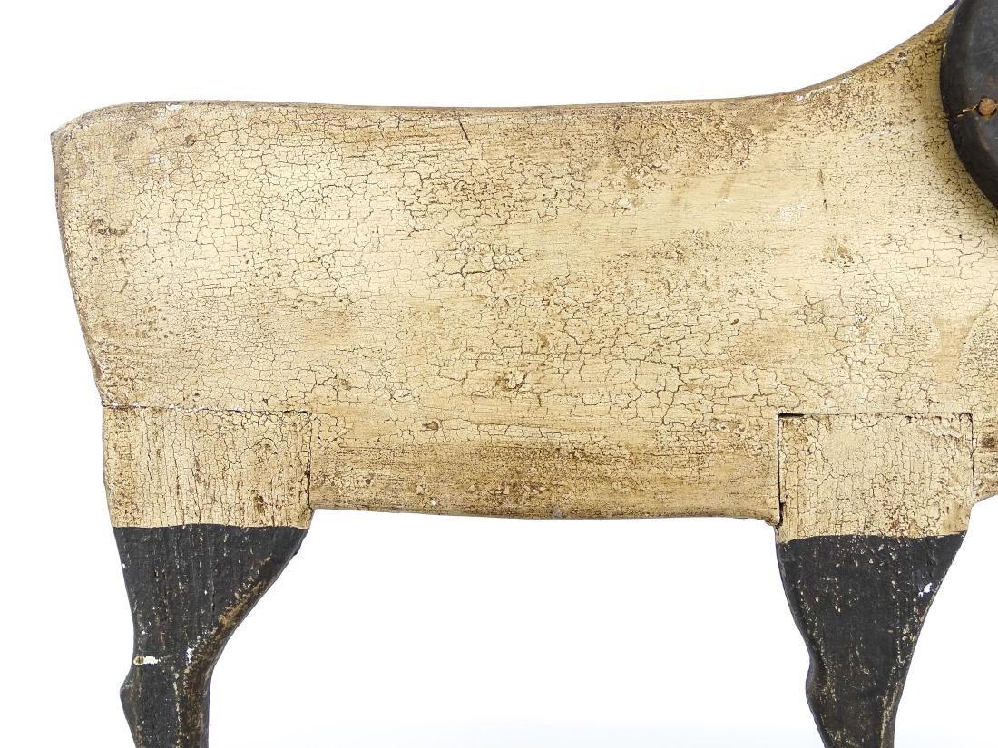 Folk Art Ram Carving - 5