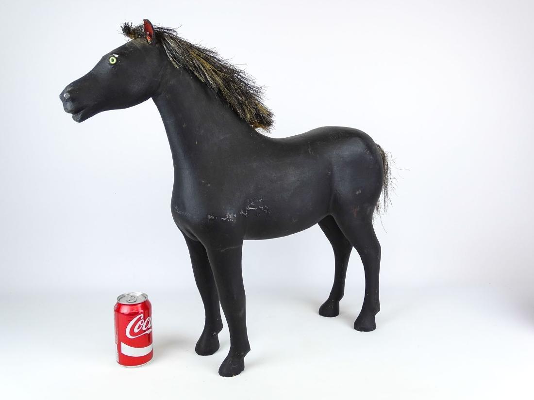 Folk Art Carved Horse