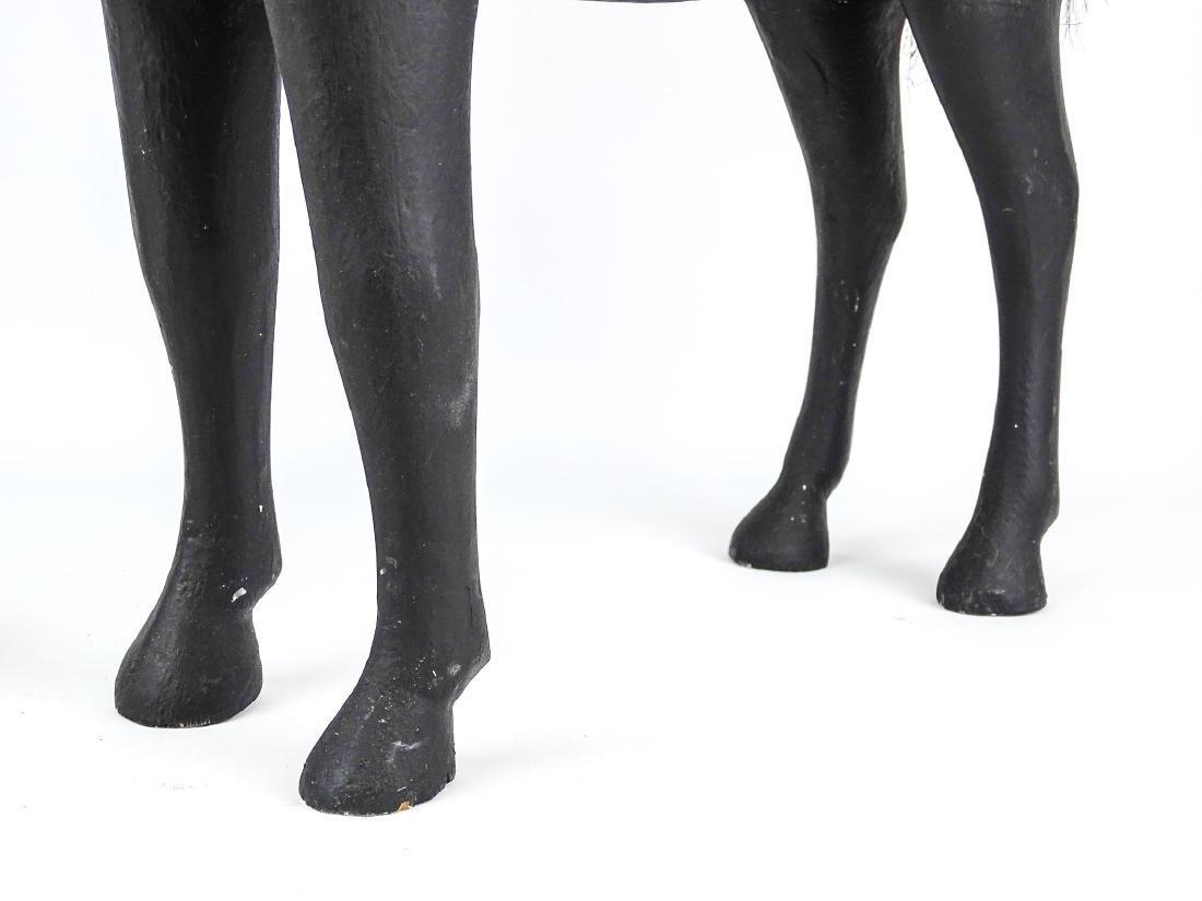Folk Art Carved Horse - 4