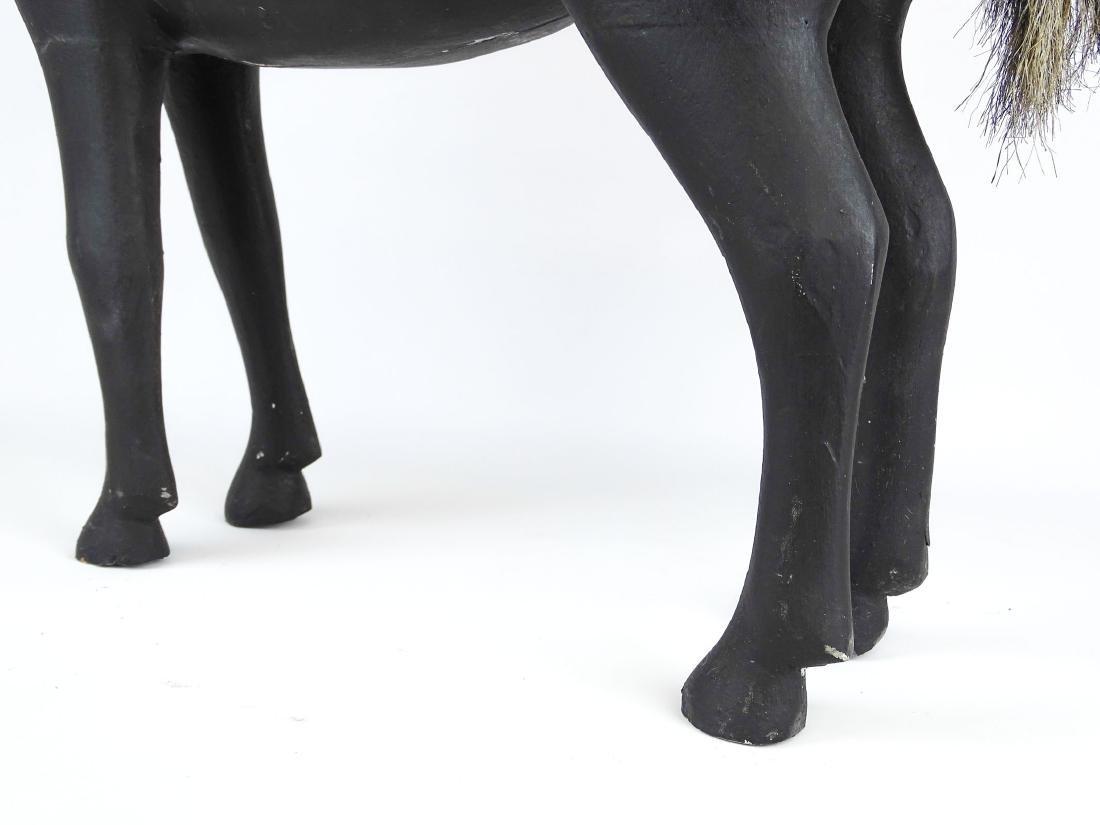 Folk Art Carved Horse - 6