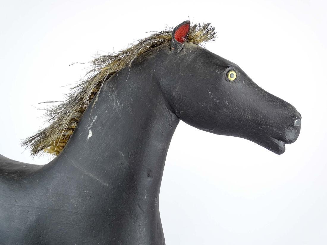 Folk Art Carved Horse - 8