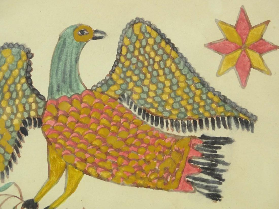 Folk Art Watercolor - 4
