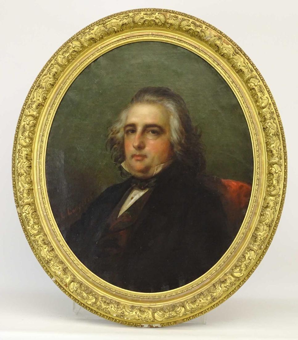 Louis Lang (1814-1893), Portrait