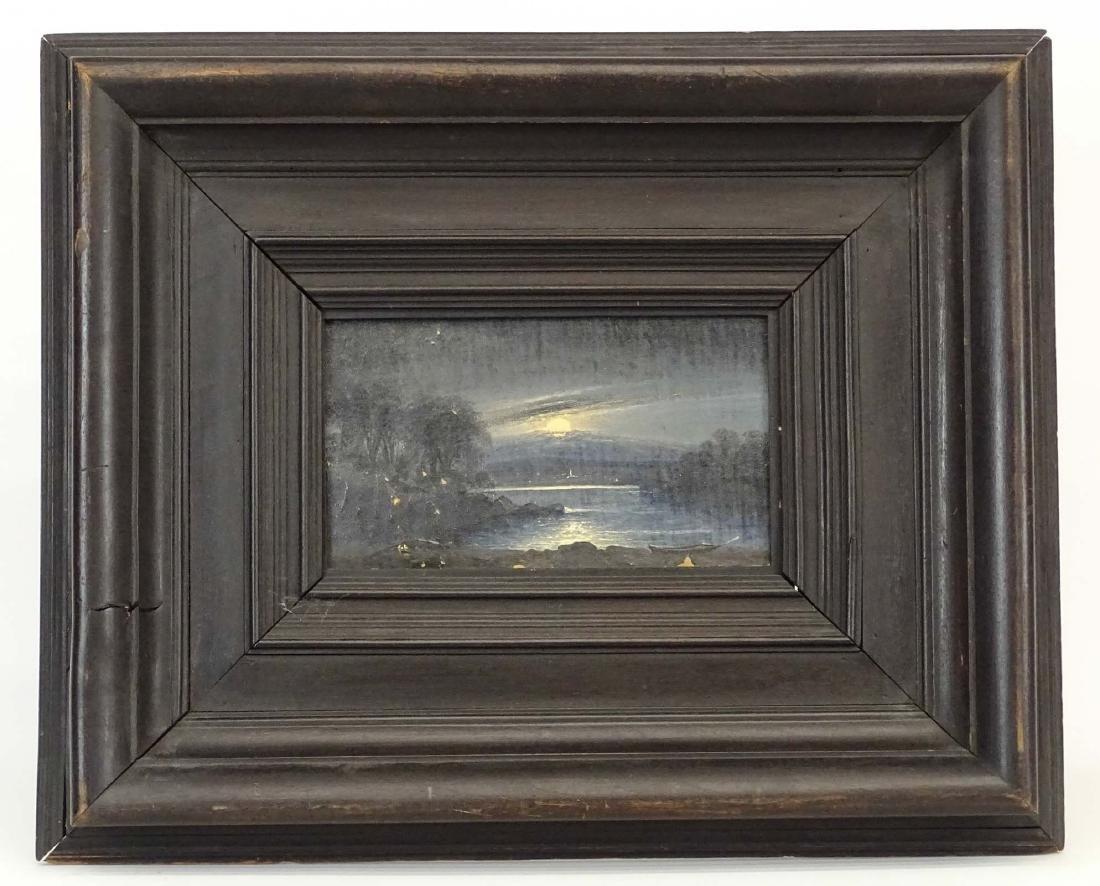 Painting,  Moonlit Landscape