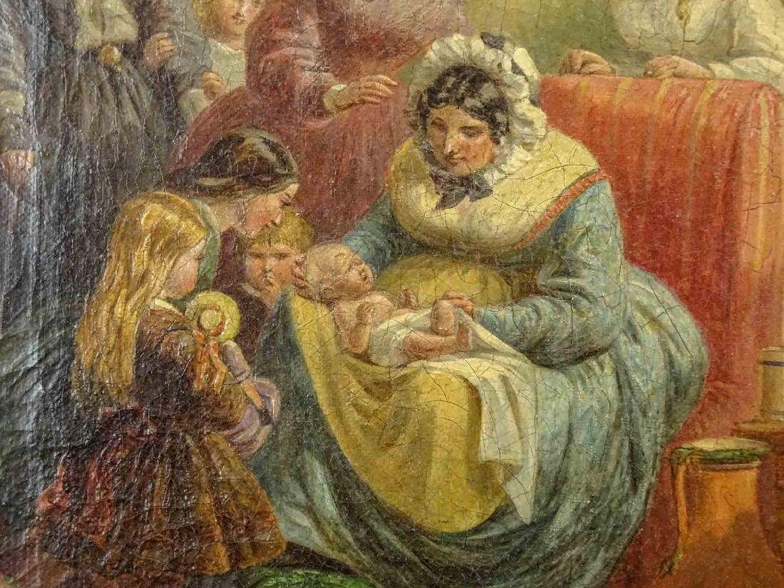 English School, 19th c. Nursery Scene - 4