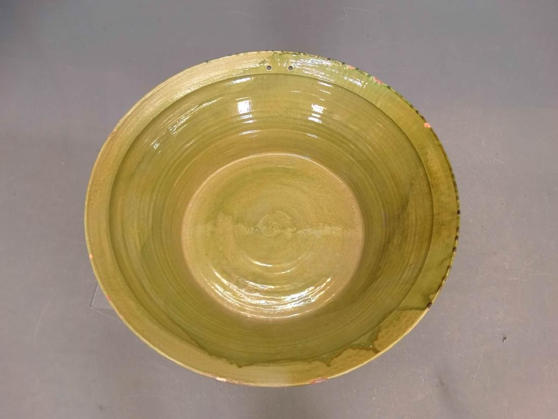 Large French Pottery Bowl - 2