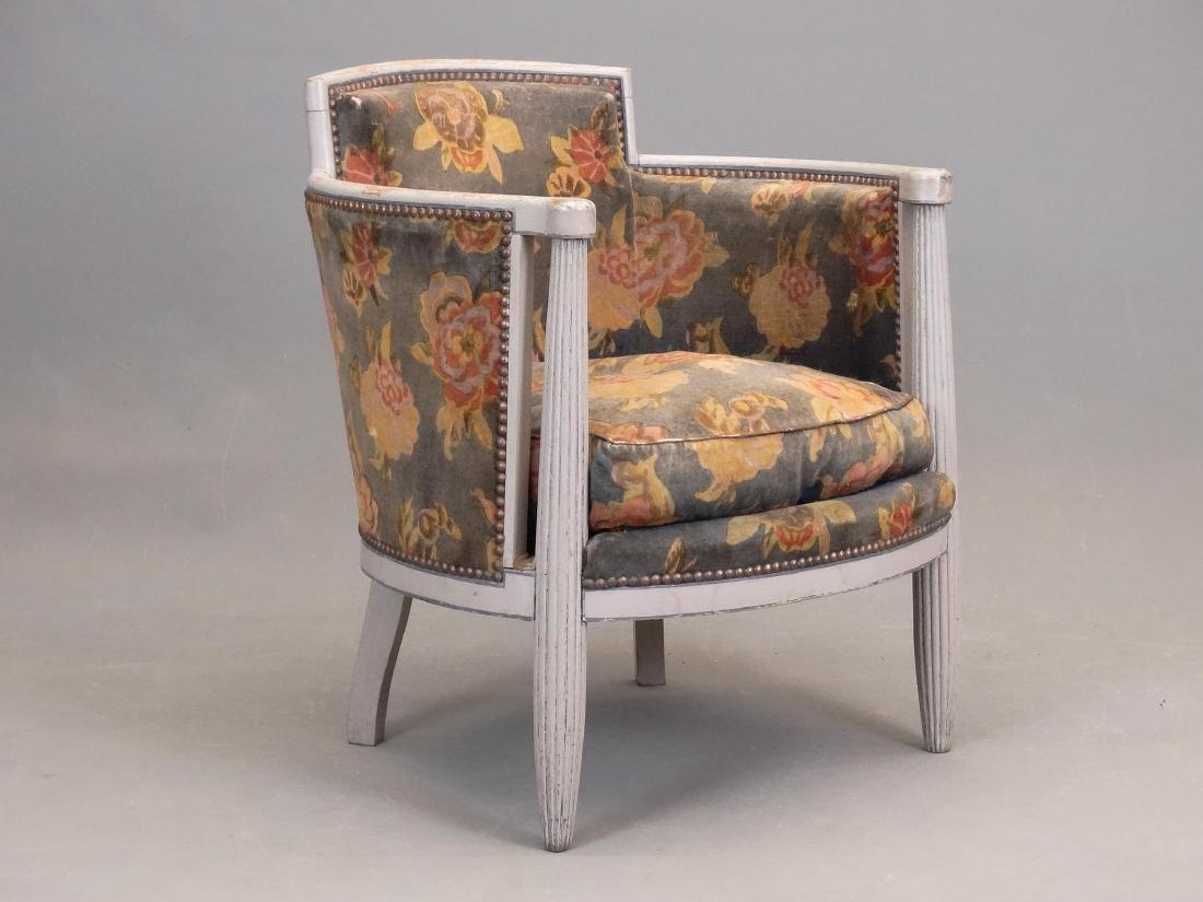 Continental Barrel Chair