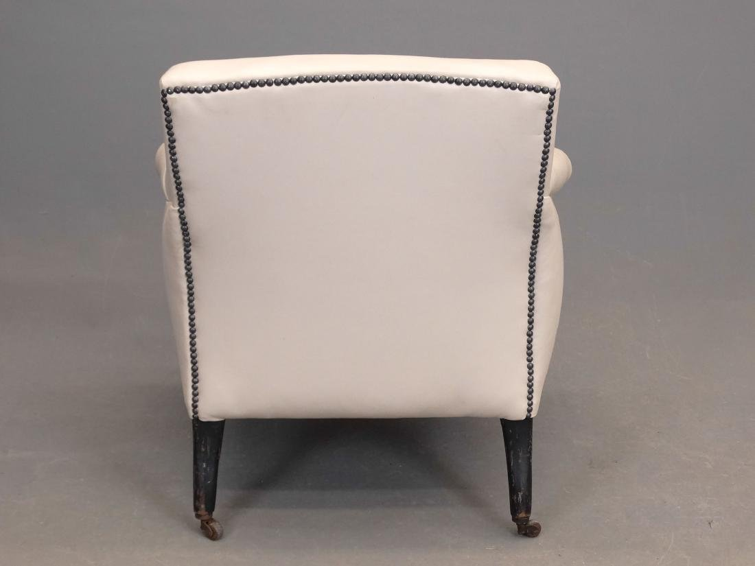 Upholstered Club Chair - 4