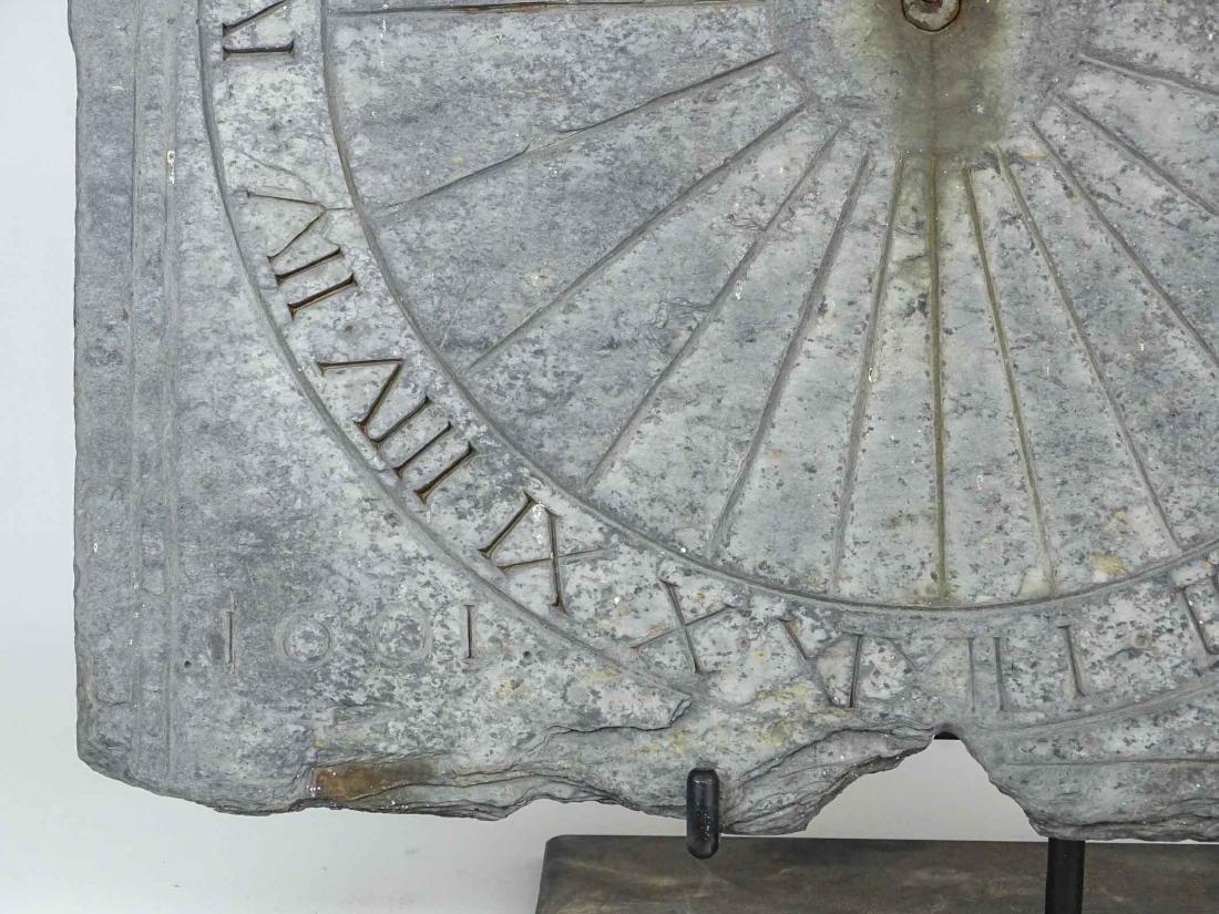 Slate Sundial - 4