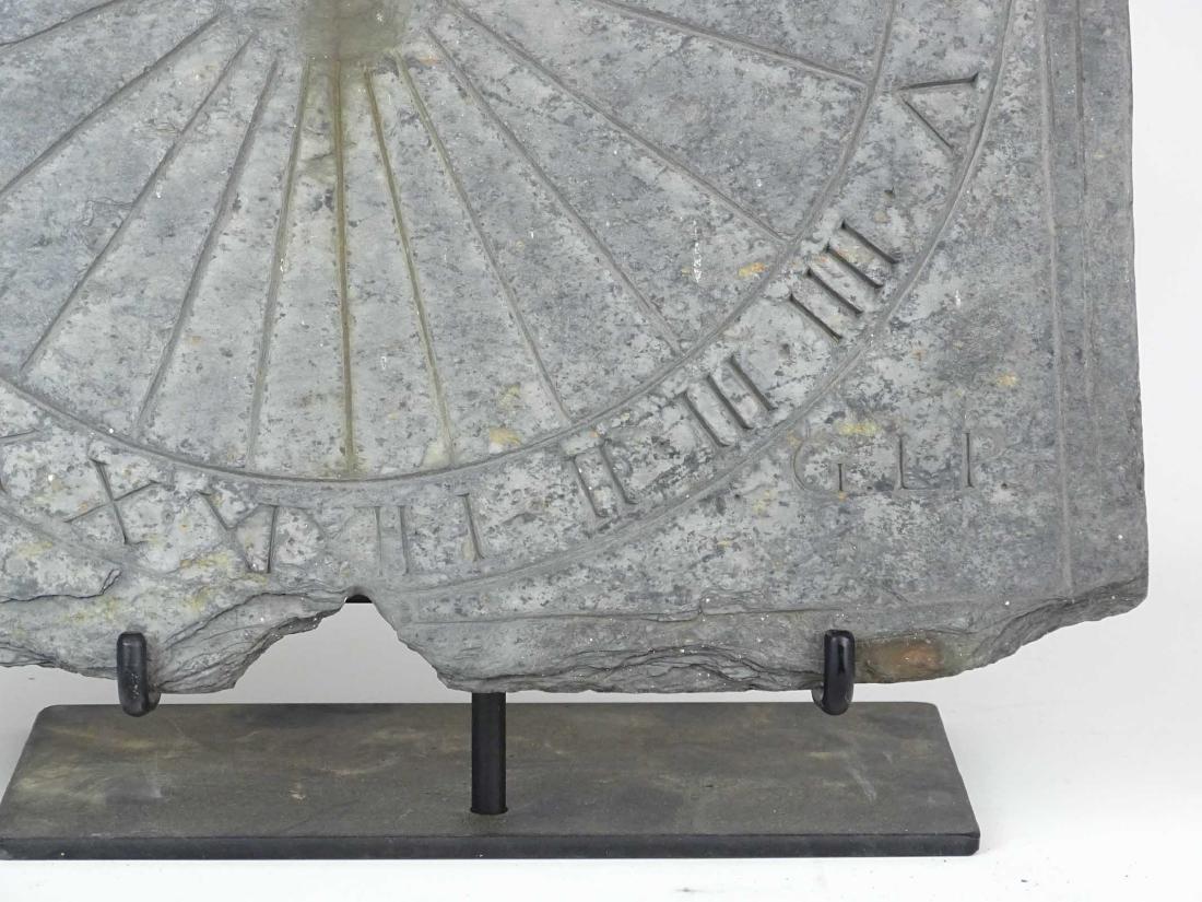 Slate Sundial - 5