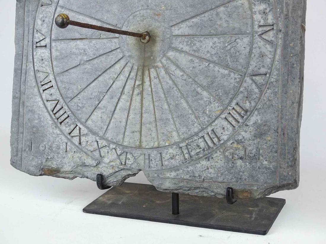 Slate Sundial - 6