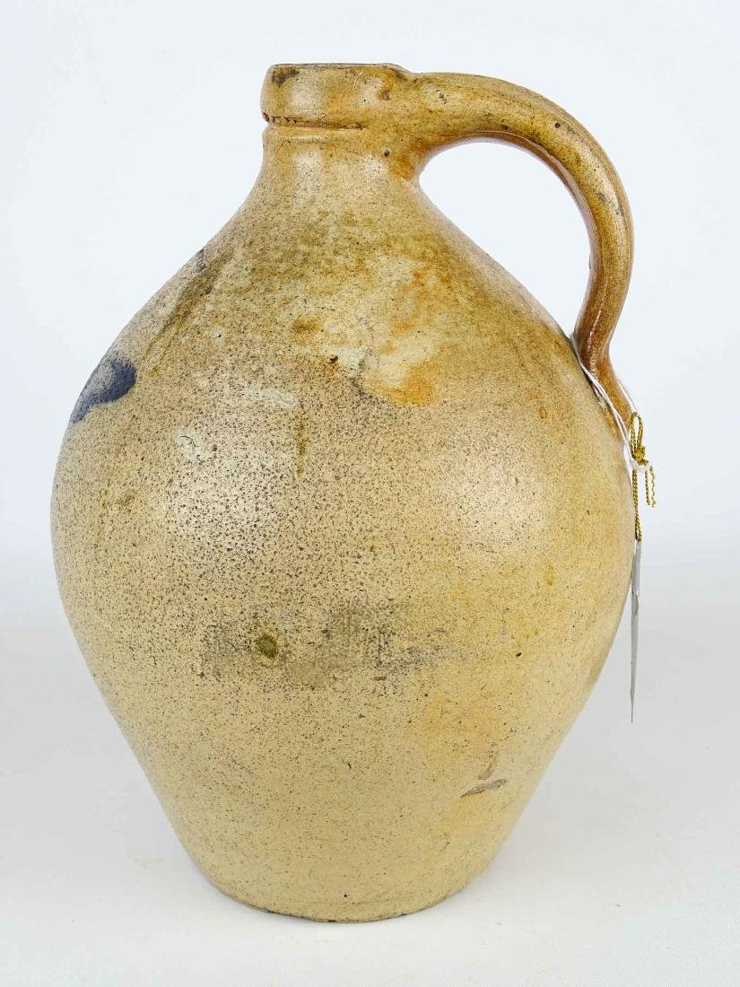 19th c. Julius Norton Stoneware Jug - 5