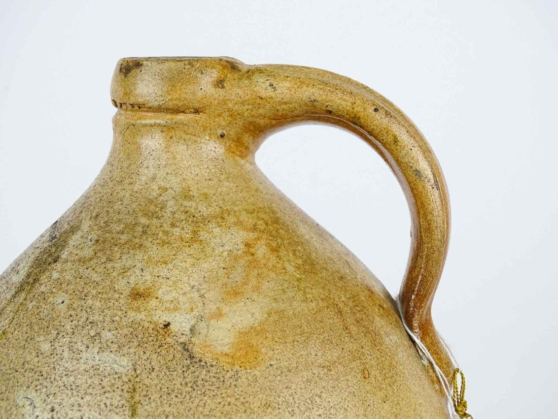 19th c. Julius Norton Stoneware Jug - 6