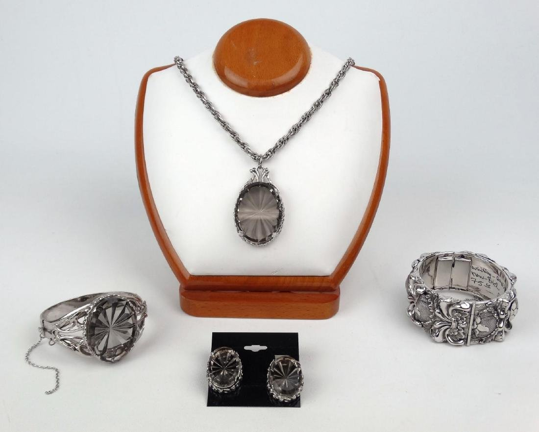 Whiting Davis Vintage Jewelry Set