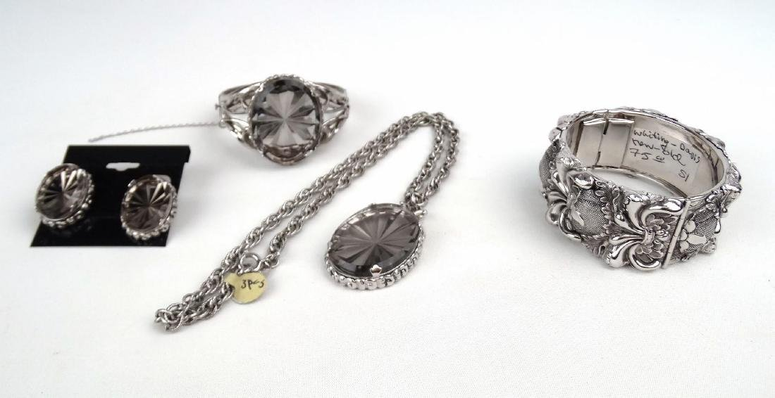 Whiting Davis Vintage Jewelry Set - 2