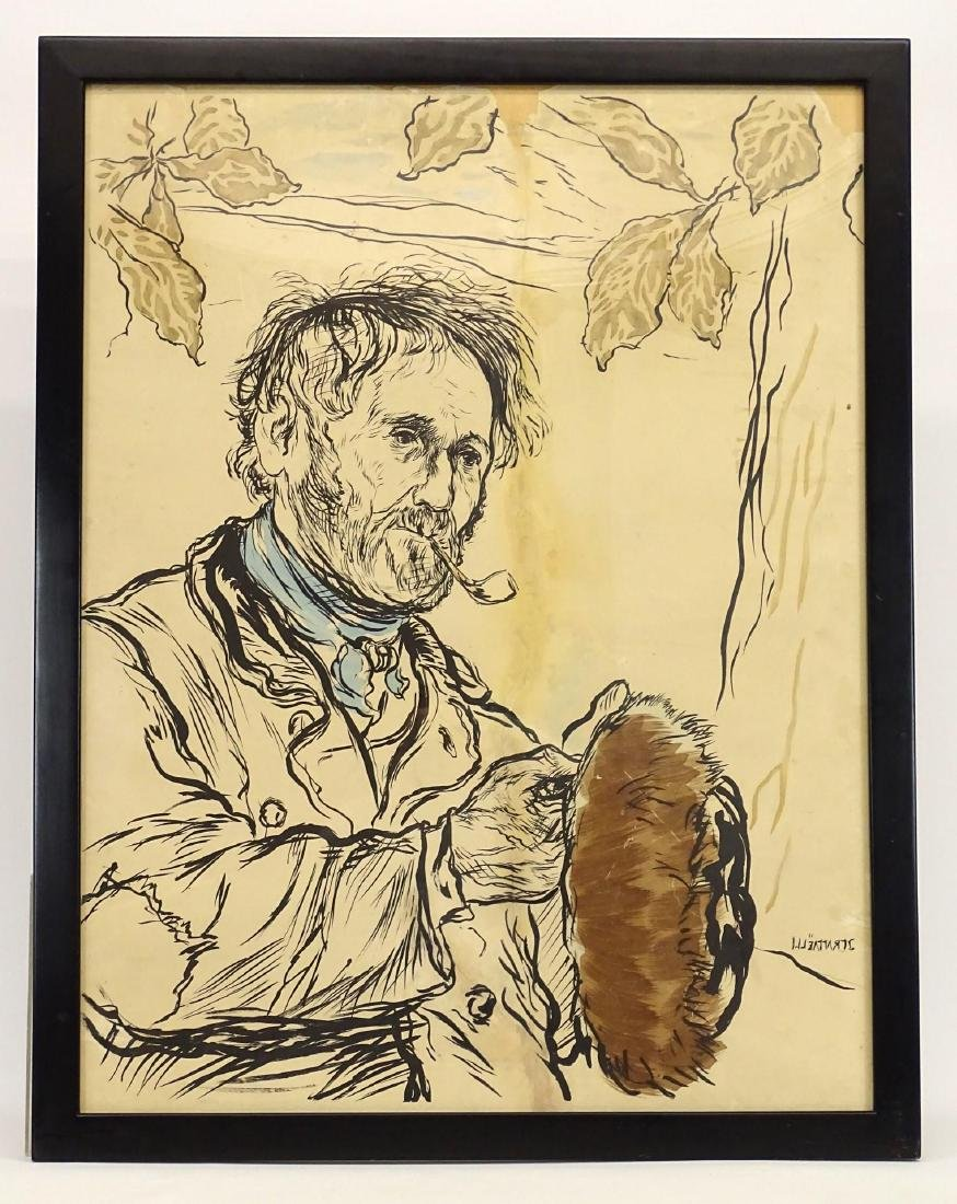Jean Francois Raffaelli (French 1850-1924)
