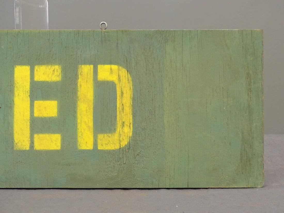 Trade Sign - 3