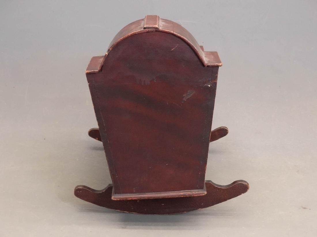 19th c. Hooded Cradle - 5