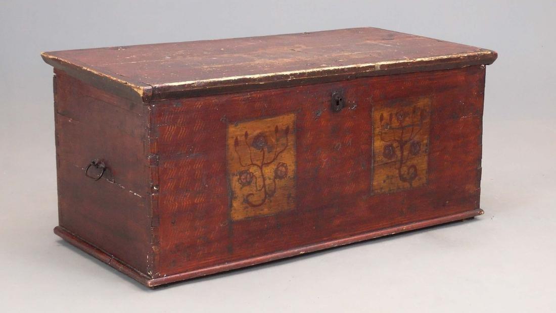 19th c. Blanket Box