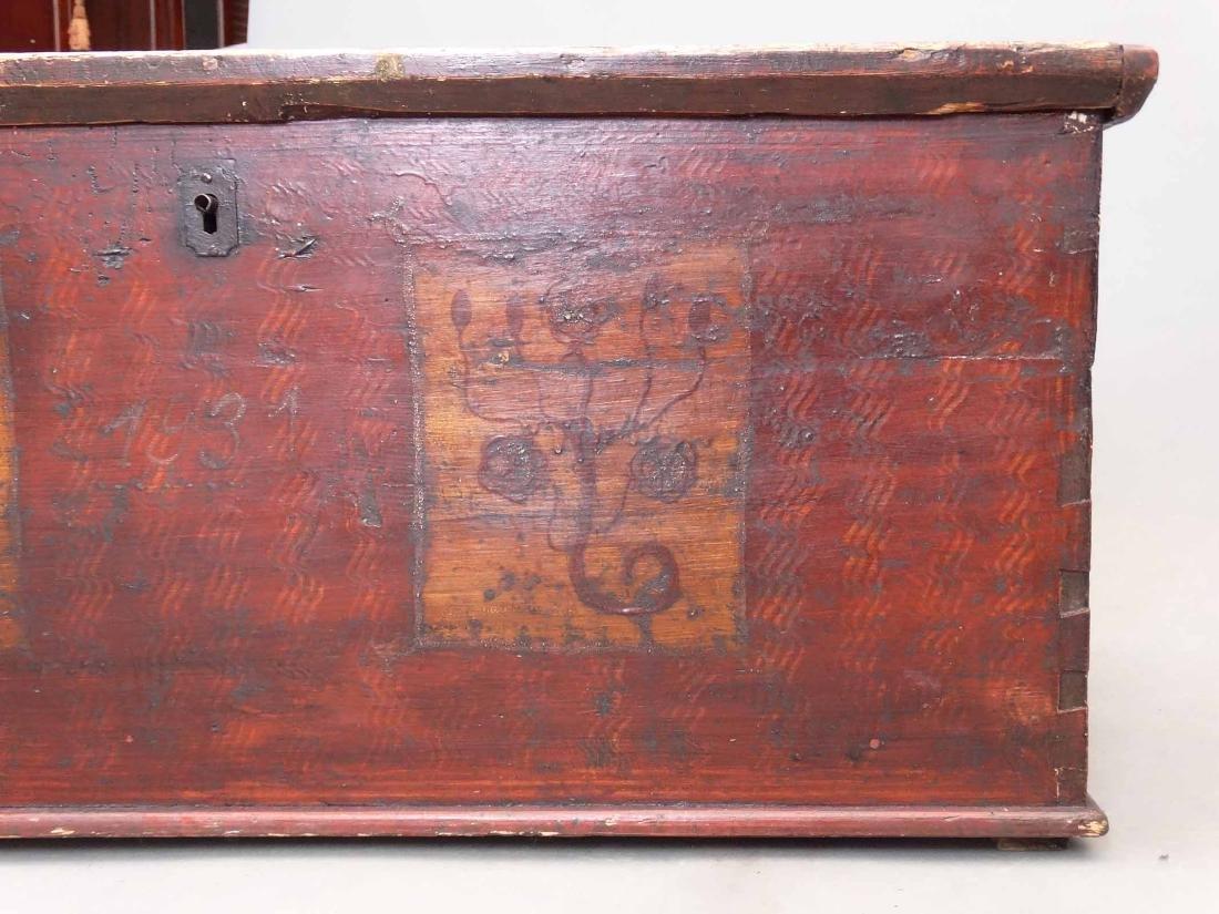 19th c. Blanket Box - 5