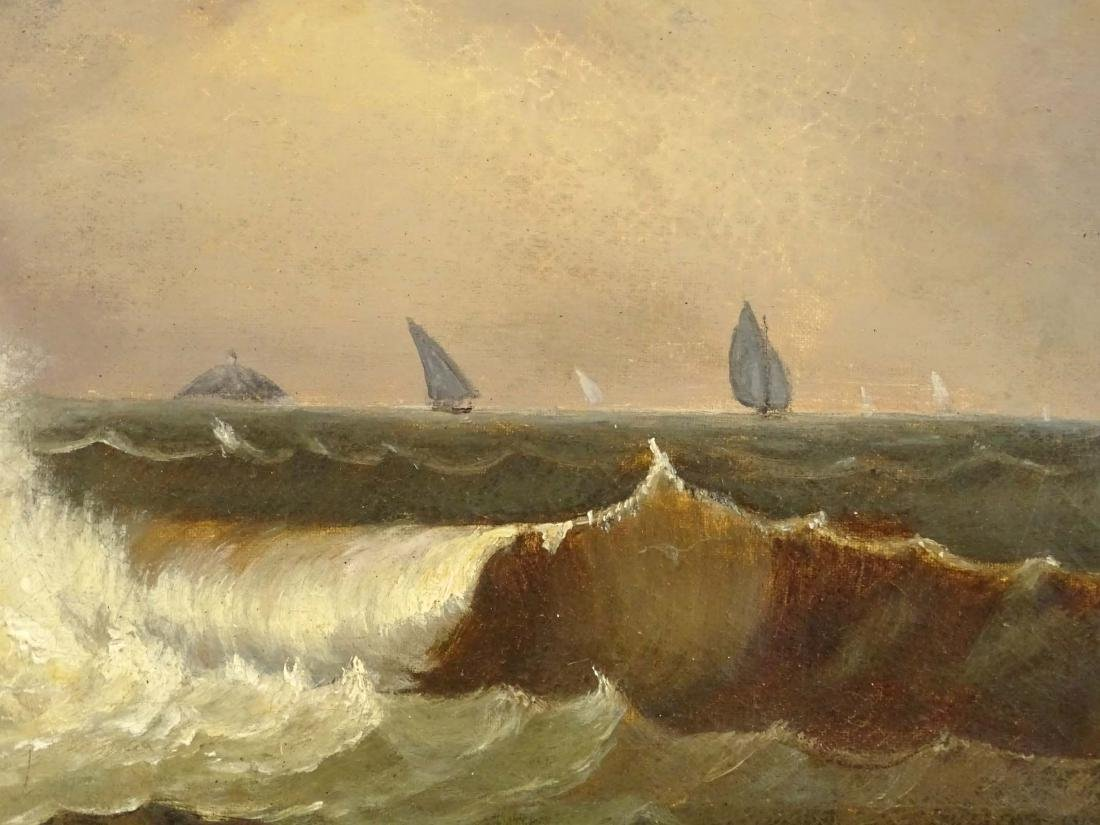 19th c. Seascape - 3