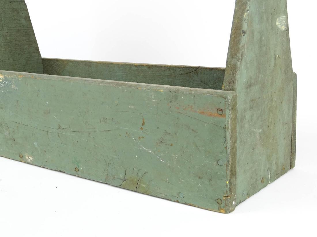 Tool Carrier & Bone Handled Flatware Lot - 4