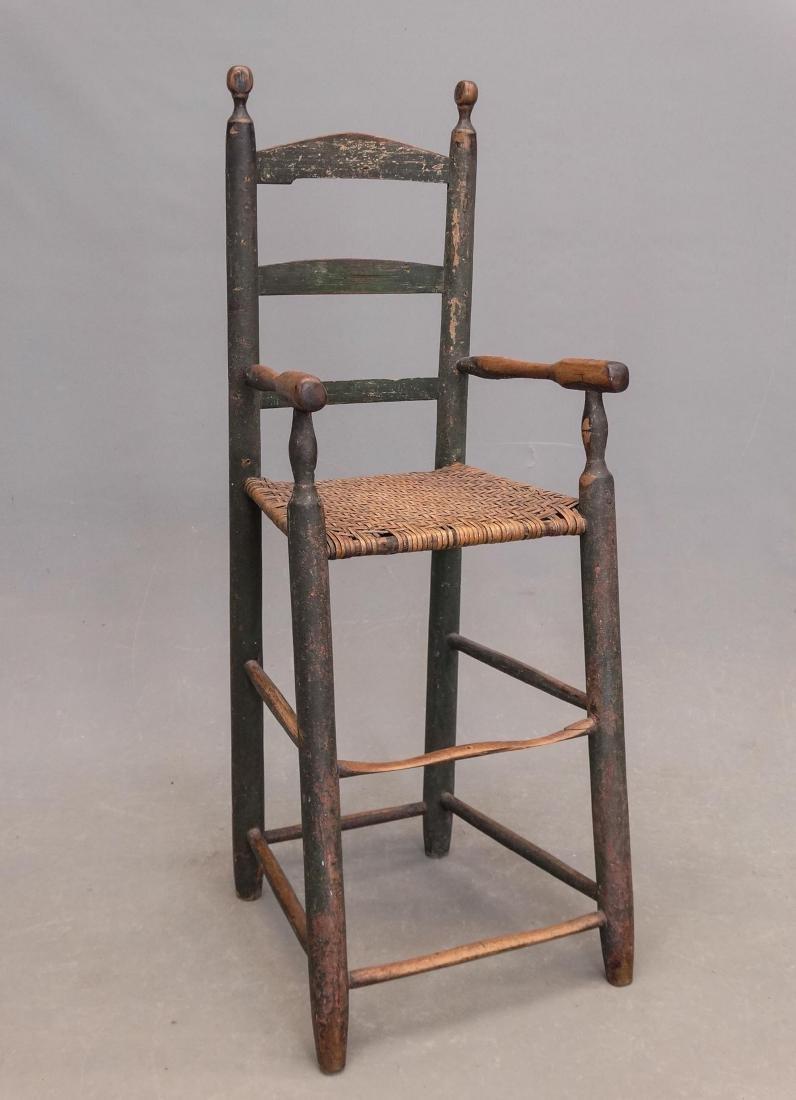 19th c. Highchair