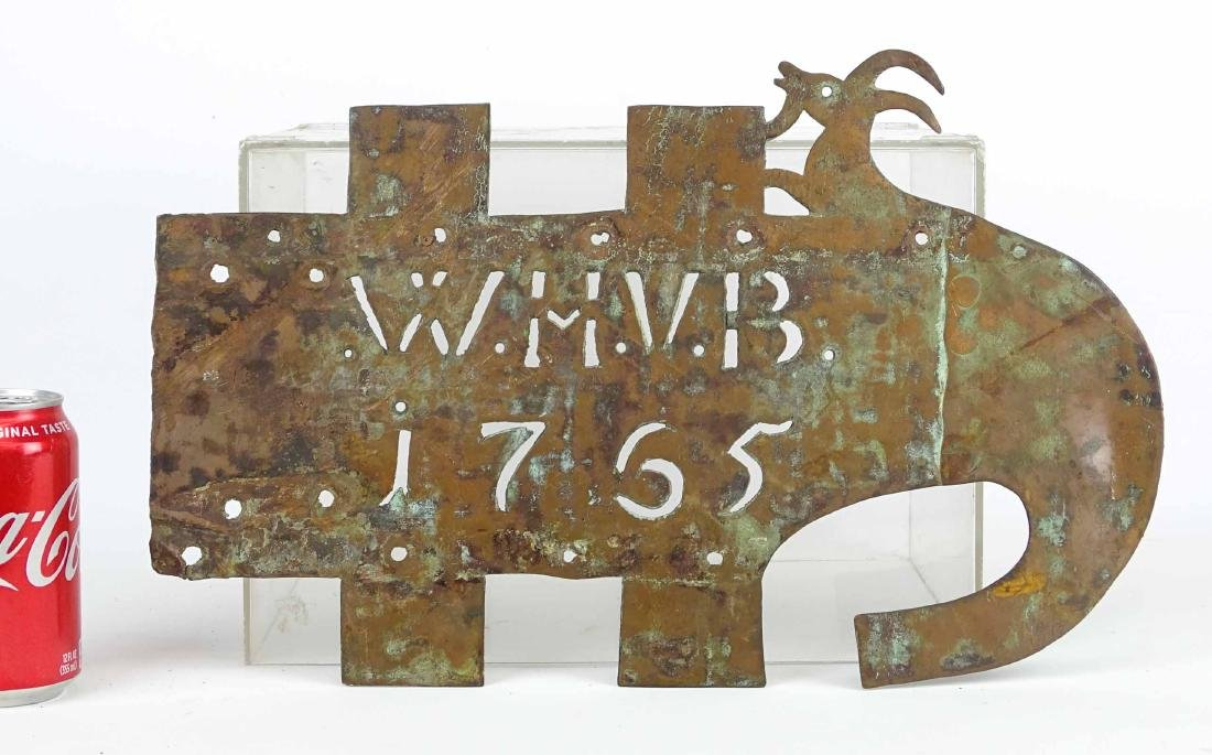 18th c. House Marker