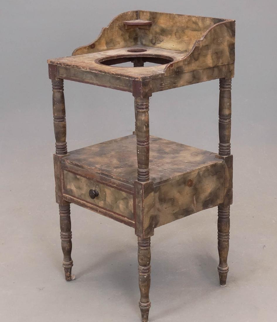 19th c. Bowl Stand
