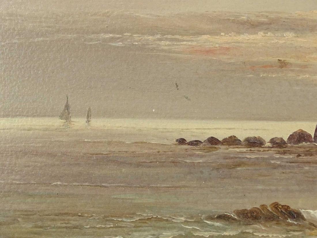 19th c. Seascape - 3