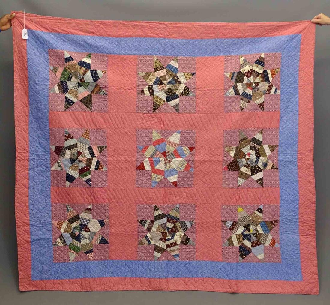 C. 1890's Quilt