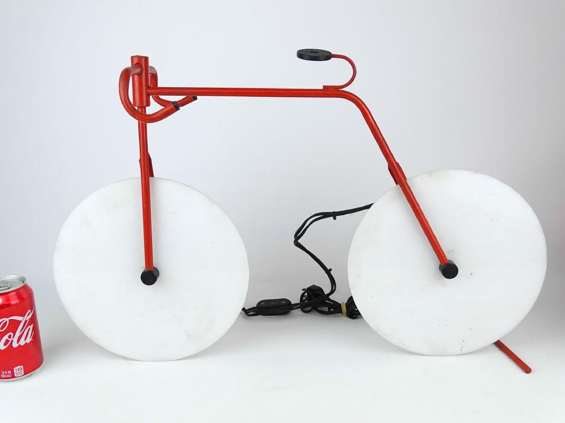 Bicycle Sculpture Lamp
