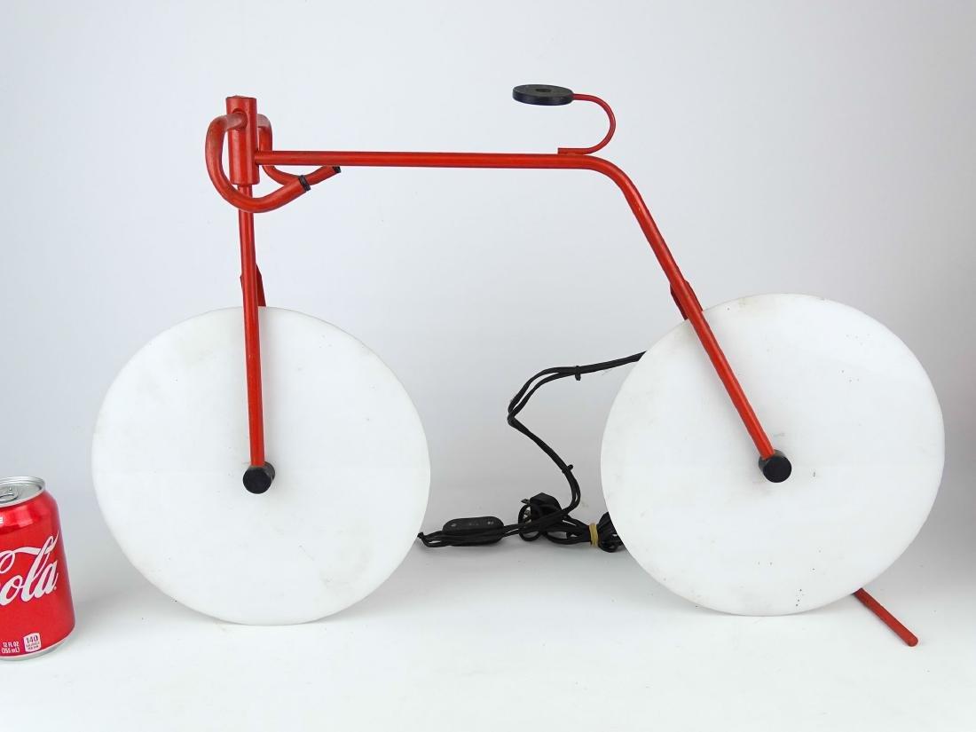 Bicycle Sculpture Lamp
