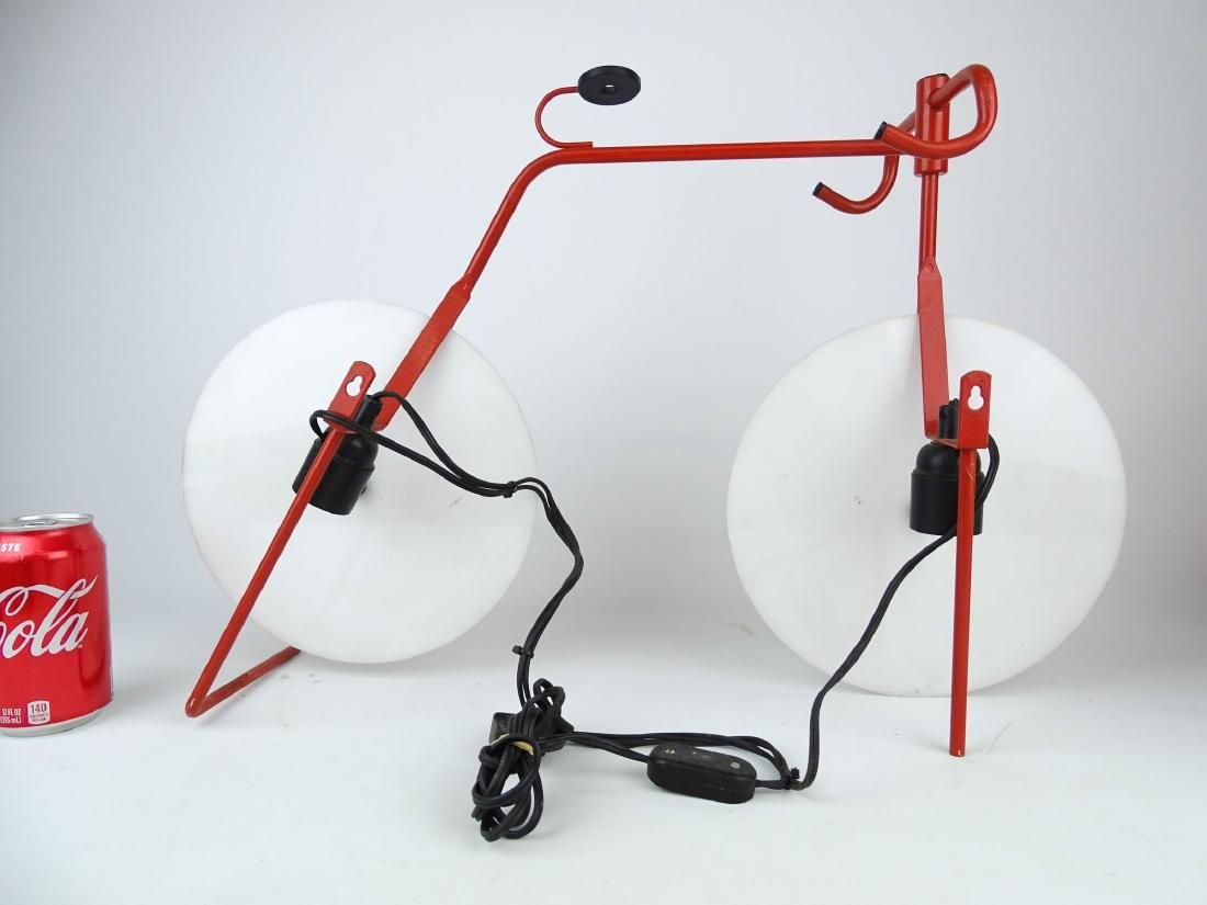 Bicycle Sculpture Lamp - 4